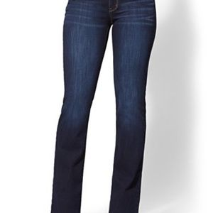 NY&Co Soho Jeans - Curvy Bootcut - Sz 2 Avg - NWT